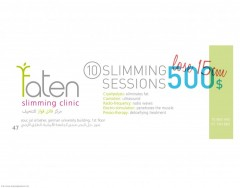 Faten Slimming Clinic - Sour - 10 Sessions for 500$ Only